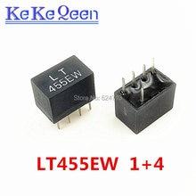 10 sztuk LT455EW LT455E CF455E CF455EW 455E 1 + 4 5Pin DIP-5 455 KHz filtr ceramiczny do komunikacji przekaźniki sygnału