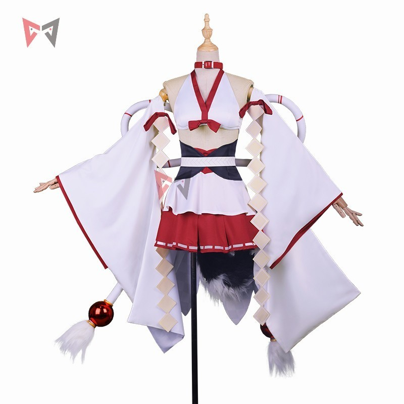 New Azur Lane cosplay costume IJN Yudachi wedding dress Kantai Collection POI Solomon sex bra skirt hat big bow huge anime set