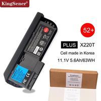 Kingsener coreia pilha bateria do portátil para lenovo thinkpad x220t x220 tablet 42t4881 42t4882 42t4877 42t4878 52 + 11.1 v 63wh 6 células