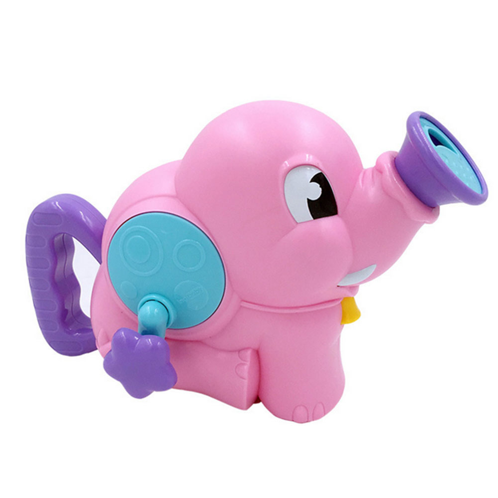 1PC Bath Toy Water Squirt Toy Baby Shower Assistant Elephant Style Durable Water Spray Toy Baby Hand-cranked Shower Accessories baby toys