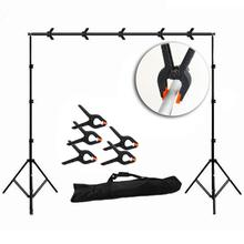 10Pcs/set Background Clip 7cm Photo Studio Accessories Light Photography Background Clips Backdrop Clamps Peg Photo Studio