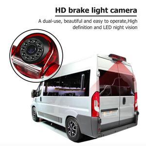 Image 5 - Araba 3rd fren lambası arka görüş kamerası IP68 su geçirmez LED gece görüş kamera Citroen Jumper için Fiat Ducato Peugeot Boxer
