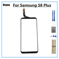6.2 Inch Touch Screen Screen Digitizer Front Glass for Samsung for Galaxy S8 Plus S8P Mobile Phone Touch Panel Glass with Tools