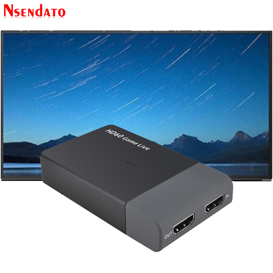Ezcap261M USB 3.0 HD60 キャプチャ 4 k 1080 p ゲームライブストリーミングビデオコンバータサポート 4 k ビデオ xbox One PS4 カメラ
