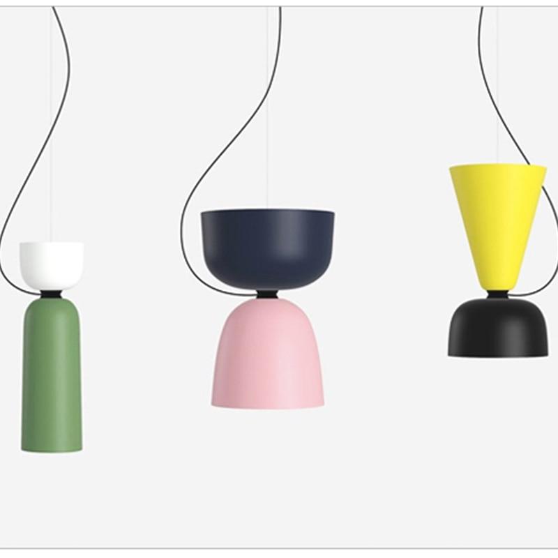 SETTEMBRE Modern Pendant Lamps Color Lamps Restaurant Cafe Bar Pendant Lighting Nordic Restaurant Geometric Lamp|Pendant Lights| |  - title=