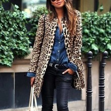 Print Leopard Long Cardigan