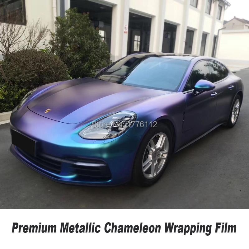 Жемчуг матовый Хамелеон Винил Фольга синий блестящий фиолетовый наклейка покрытие на автомобиль воздушный пузырь Бесплатная для тела снар