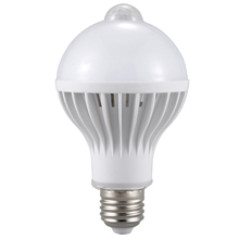 E27 Led Bulb Light Motion Sensor Light LED PIR Motion Sensor Lamp Globe Bulb Light Lamp цены