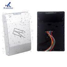 RFID Kartenleser 125KHZ Single Door Access Control IP65 Wasserdichte Outdoor 2000 Benutzer WG26 Ausgang Master Karte Verwalten Einfach verwenden