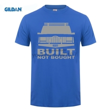 GILDAN O-Neck Short Sleeve T-Shirt Stealth-Built Not Bought Cherokee XJ Lifted Offroad 4x4 T shirt Cheap Sale