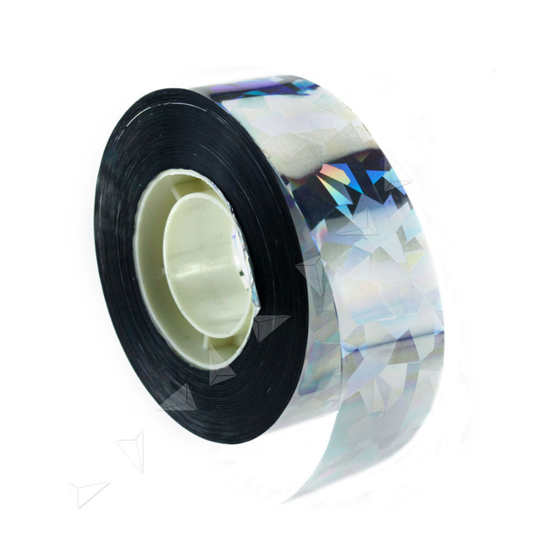 Bird Scare Tape Holographic Repellent Design - Double Sided Reflective Scarecrow Ribbon Flash Bird Deterrent Tape