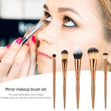 5/8pcs Professional Makeup Brushes Set Face Foundation Eyeshadow Blush Loose Powder Make Up Brush Beauty Tools professional slim 5pcs makup brushes set powder blush eyeshadow eyeliner face eyes brush make up cosmetics tools with box