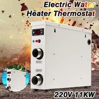 New 11KW 220V AC Electric Digital Water Heater Thermostat For Swimming Pool SPA Hot Tub Bath Water Heating
