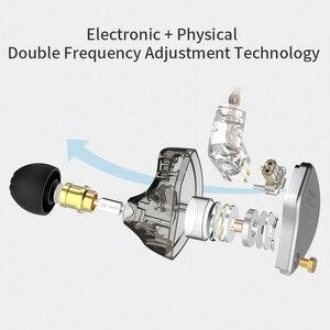 Image 4 - CCA CA4 In 1DD + 1BA Ohr Kopfhörer Monitor Lautsprecher Metall Hybrid Technologie Ohrhörer Sport Noise Bluetooth Kabel Headset