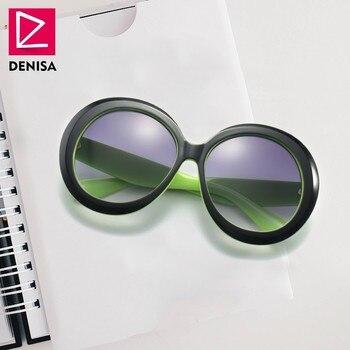 167ca6792b DENISA 2019 nueva moda ronda Clout gafas de NIRVANA, Kurt Cobain, gafas de  sol