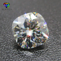 Wholesale Price 4x4~11x11mm Cushion Cut Loose DEF Color White Moissanite Stone Synthetic Gems For Wedding Jewelry White Gold