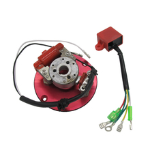 Motor Ignition Inner Rotor Magneto Stator Kit 50cc - 125cc Horizontal Engine ac220 240v motor armature rotor engine for dewalt d28710 n085931