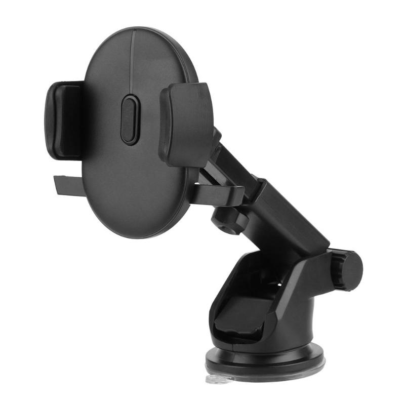 Long Neck One Touch Car Phone Mount Holder Dashboard