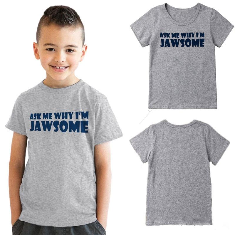Fashion Kids Boys Striped Pocket V-Neck Cotton Tops T-Shirt Short Sleeve Shirt