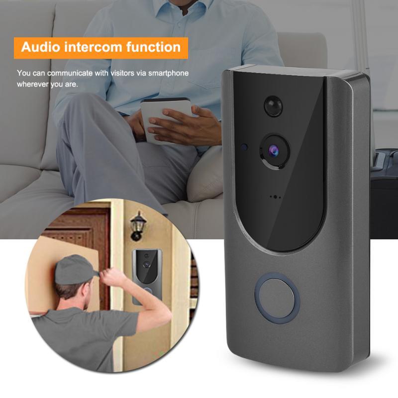 Doorbell 720P Wifi IP Smart Video Doorbell Wireless Home Security Door Bell Intercom Visible Camera deurbel