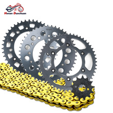 520 13T 43T 47T 51T Motorcycle Drive Chain and Front Rear Sprocket Set for Honda XR250 III S Baja 1996 520-13T 520-43T XR 250 cvgaudio m 43t