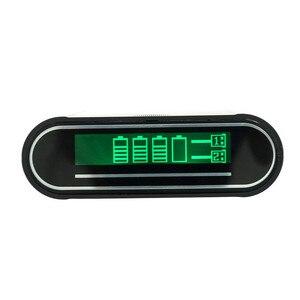 Image 5 - Чехол для мобильного телефона 4X18650 DIY, 5 В, 2 а, с двойным USB ЖК дисплеем, портативное зарядное устройство DIY, корпус