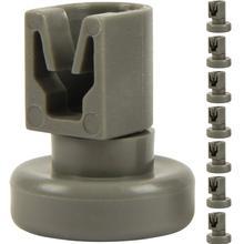 8 верхних роликов корзины для посудомоечной машины(1 комплект), подходящие рулоны корзины как аксессуар/запасные для посудомоечной машины от Aeg Favorit, Pri