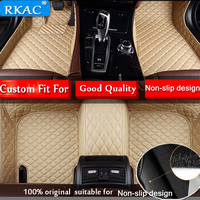 RKAC Good quality waterproof Custom car floor mats for BMW X6 2008 2017 car styling floor mat Foot Carpets Rugs car styling