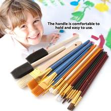 25Pcs Oil Painting Brushes Functional Drawing Brush Aluminium Alloy Tube Art Painting Set Tool watercolor brush Art Supplies(China)