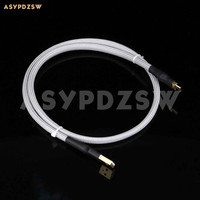 High quality DIY 4N Sterling silver HIFI Audiophile (1 meter) USB Micro data cable for Android