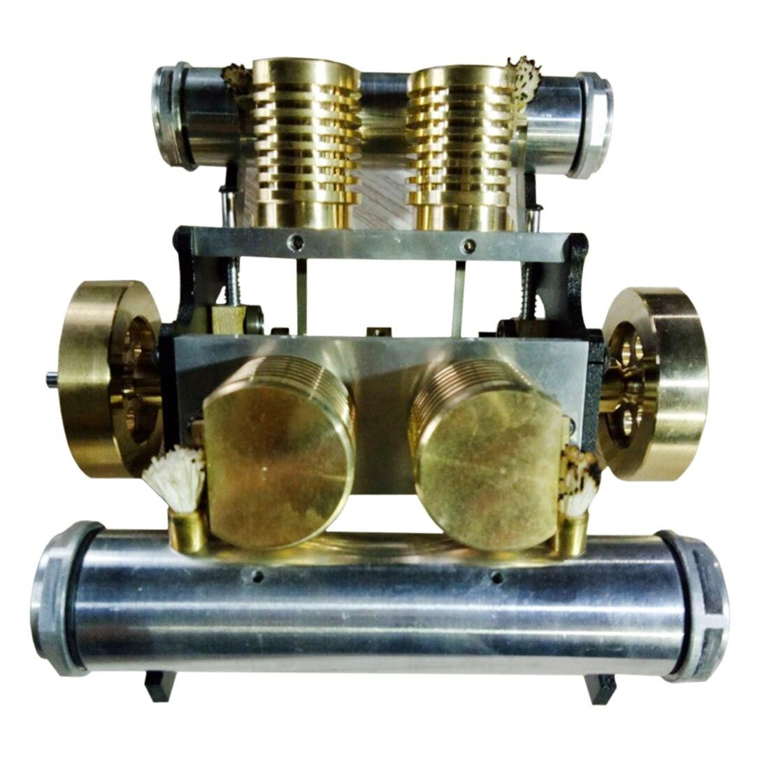 V-shape Four-cylinder Vacuum Suction Engine Model Building Kits Toy for Developing IntelligenceV-shape Four-cylinder Vacuum Suction Engine Model Building Kits Toy for Developing Intelligence