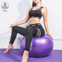 2 Pcs Set Suit Sleeveless Vest Striped Yoga Pants Sport Summer Breathable Seamless Bra Fitness Leggings Running Clothes