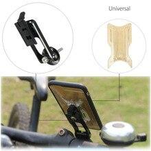 Универсальный Для iPhone 7 Plus Для Samsung Держатель Телефона Крепление На Руль Мотоцикла Велосипеда Подставка Из Алюминиевого Сплава Для Велосипеда Мобильного Телефона
