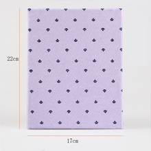 Hot Selling Cloth 5 Inch Plastic 200 Photos 7 Inch Plastic 100 Photos Protective Cover Album Insert Page Fresh Photo Album Gifts