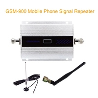 GSM Booster 900MHz Cell Phone Signal Booster Amplifier GSM Cellular Mobile Phone Signal Repeater Booster With Antenna