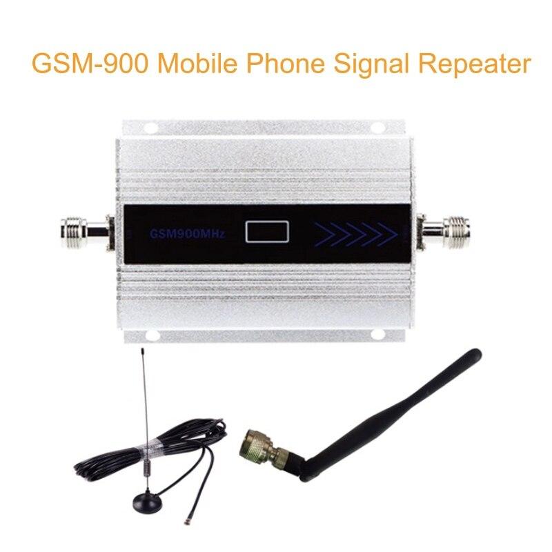 Amplificateur de Signal de téléphone portable GSM Booster 900 MHz amplificateur de Signal de téléphone portable cellulaire GSM avec antenne