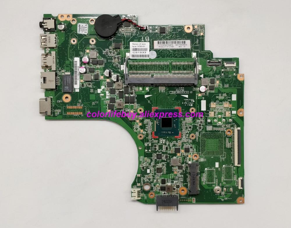 Genuine 747265 001 747265 501 747265 601 w N2810 CPU Laptop Motherboard Mainboard for HP 14 D 240 246 G2 Series NoteBook PC-in Laptop Motherboard from Computer & Office