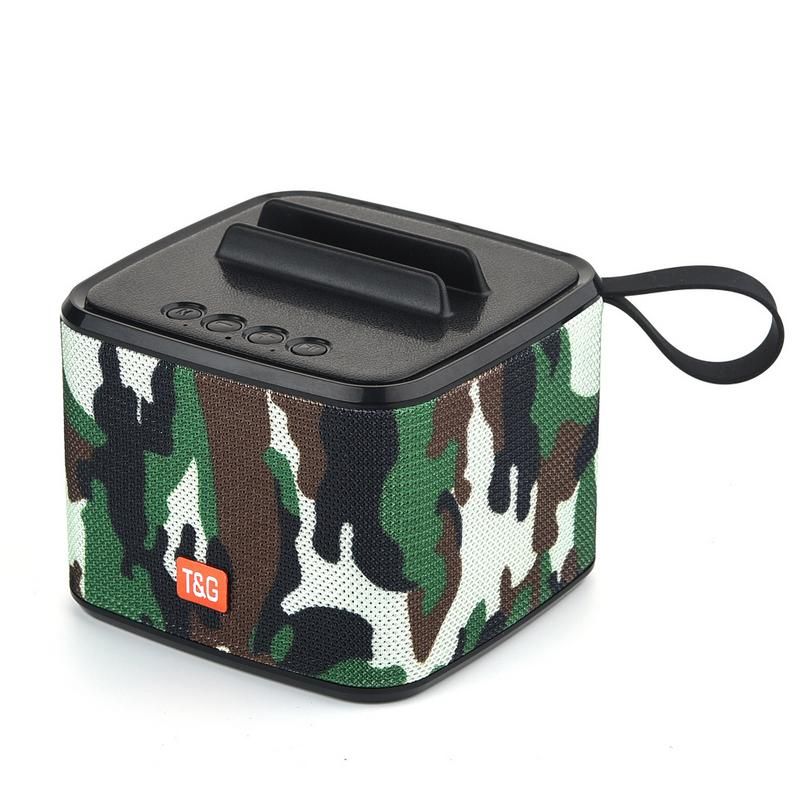 Image 4 - Portable Speaker Bluetooth Outdoor Waterproof Wireless Player Stereo Hd Sounds Sports Devices Support TF Card FM Radio Aux Input-in Portable Speakers from Consumer Electronics