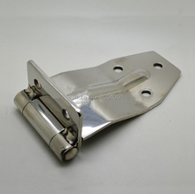 Stainless steel hinge container door refrigerated cold store compartment fitting truck van express car side-door