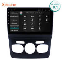 """Seicane 10.1"""" 2din Android 8.1 GPS Navi Car Radio For 2013-2016 Citroen C4 Head Unit Player Left hand driver Support Rear Camera"""