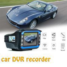 2 In 1 720 p Rivelatori Del Radar Dell'automobile DVR Registratore Velocità Detector Russo Vocale Macchina Fotografica del Precipitare Cam Fisso della Velocità del Flusso di misura