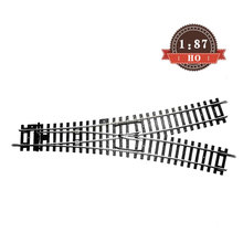 1:87 HO Scale Model Train WY Y Type Track Accessories Miniature Train Scene Making Layout Kits For Diorama Train Landscape ho scale model railway 1 87 scale train riders standard track roller test stand with 6 trolleys train treadmill track bearing
