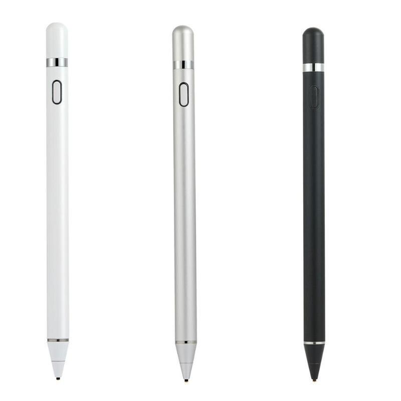 Stylo à condensateur actif Rechargeable dessin écriture stylo à écran tactile pour téléphone intelligent tablette
