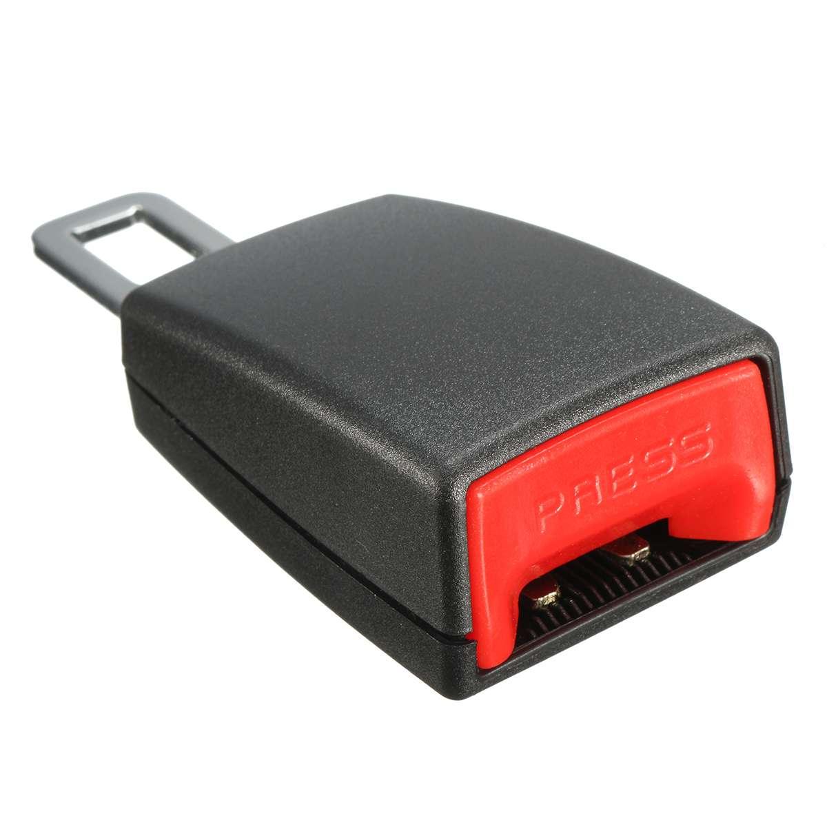 Auto Car Seat Belt Extender 22mm Auto Car Seat Belt Buckle Clip Extender 2pcs
