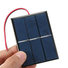 1.5V 0.65W Solar Panel Power Module For Battery Cell Phone Charger 60*80*3mm Z3(China)