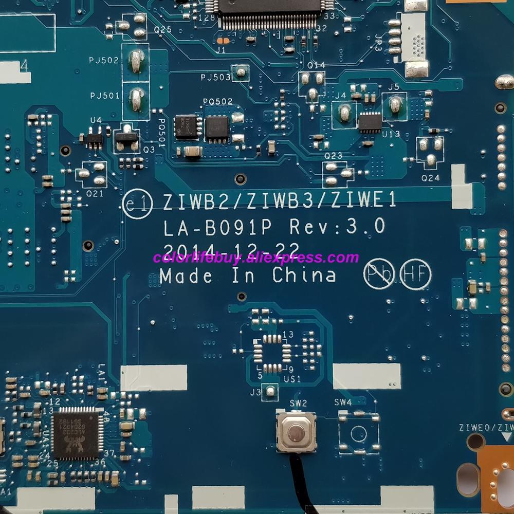 Image 5 - Подлинная 5B20G45937 LA B091P w SR1EN I3 4030U w 216 0856050 GPU Материнская плата ноутбука для lenovo B40 70 ноутбук ПК-in Материнская плата для ноутбука from Компьютер и офис