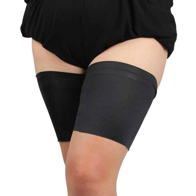 Bacak ısıtıcısı Ince Bant Kadın Yüksek Elastik Anti Reşo Koruma uyluk bantları bacak ısıtıcısı s kadın beenwarmers polainas çorap çizme