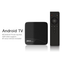 MECOOL M8S PRO L ATV Smart Android 7.1 TV Box Amlogic S912 Octa Core 64Bit 3GB/16GB TV Box dengan 2.4G Bluetooth IR Suara Remote(China)