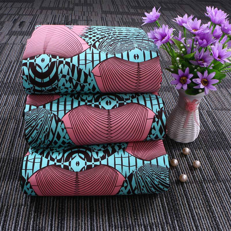 2019 Autumn Winter New Thick Flat Polyethylene Calico 112 114 Wide 100 Polyester Batik ankara african wax print fabric in Fabric from Home Garden