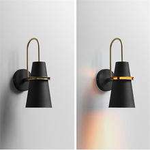 Nordic Iron LED Wall Lamps Mirror Light  LED Wall Lights Lighting Fixtures Bedroom Bedside Loft Industrial Home Deco Luminaire